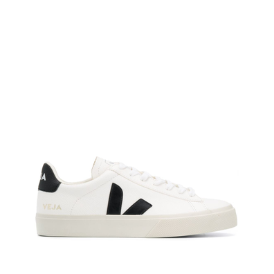 Veja VEJA CPW051537 WHITE BLACK Leather/Fur/Exotic Skins->Leather productafbeelding
