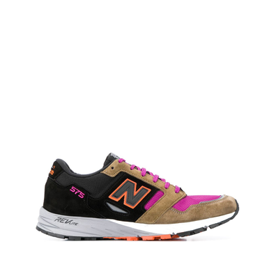 New Balance NEW BALANCE NBMTL575KP PIGSKIN/LEATHER/MESH BLACK/PINK Leather/Fur/Exotic Skins->Leather productafbeelding