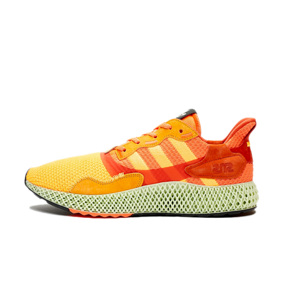 Sneakersnstuff X adidas ZX4000 'Flaming Orange' productafbeelding