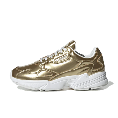 adidas Falcon 'Liquid Metal - Gold' productafbeelding