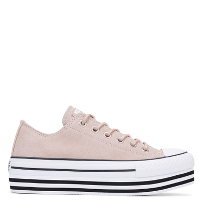 Chuck Taylor All Star Platform Suede Low Top productafbeelding