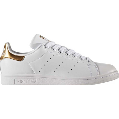 Adidas Stan Smith Wit Goud productafbeelding