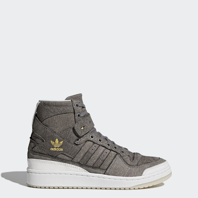 "adidas Forum Hi ""Crafted Pack"" Supplier Colour/ Ftw White/ Gold Metallic productafbeelding"