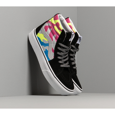 Vans SK8-Hi Platform 2.0 (After Dark) Camo/ True White productafbeelding