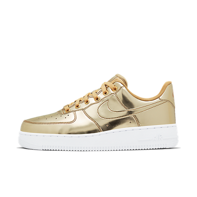 Nike WMNS Air Force 1 SP 'Gold' - Liquid Metal Pack productafbeelding
