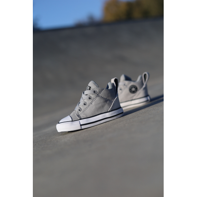 Converse Ollie mid grey/black ts productafbeelding