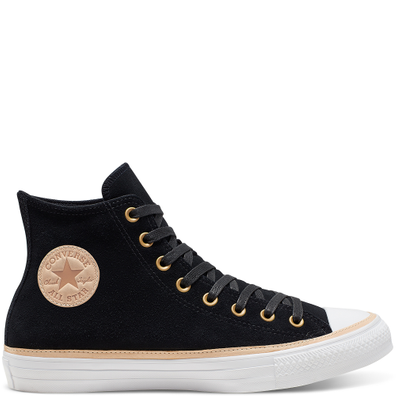 Unisex Vachetta Leather Trim Chuck Taylor All Star High Top productafbeelding