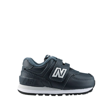 New Balance 574 Navy/Leather TS productafbeelding