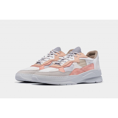 Filling Pieces low fade cosmo infinity white / pink productafbeelding