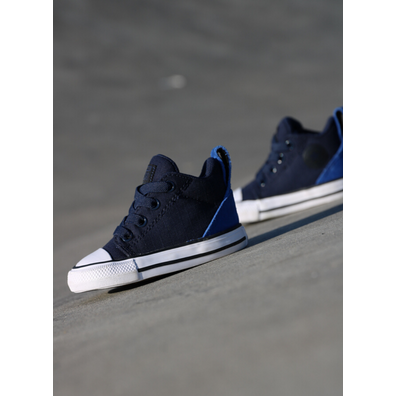 Converse Ollie mid Obisidian/blue ts productafbeelding