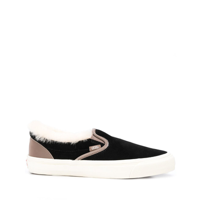 Vans shearling trim slip-on productafbeelding