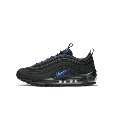 Nike Air Max 97 GS 'Dubble Swoosh - Black' productafbeelding