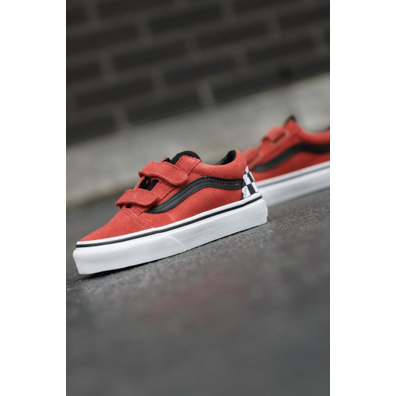 Vans Old skool redwood/black v ps productafbeelding