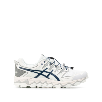 Asics ASICS 1021A257SUEDEBLUE BLUE Furs & Skins->Leather productafbeelding