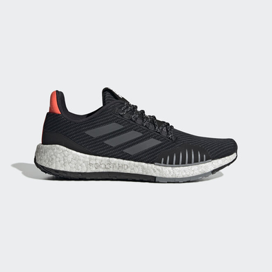 adidas PulseBOOST HD Winter Core Black/ Grey Six/ Solar Red productafbeelding