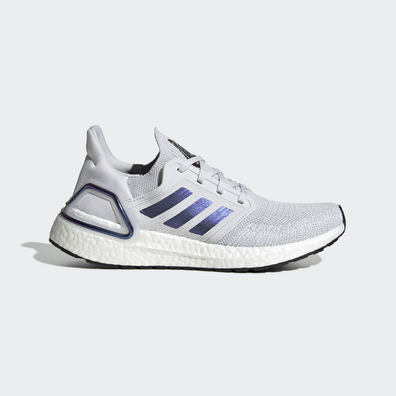 adidas UltraBOOST 20 W Dash Grey/ Blue Vime/ Core Black productafbeelding