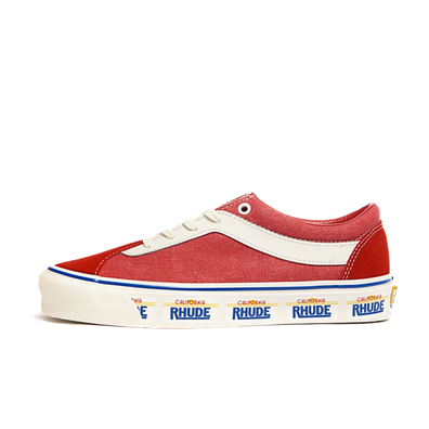 Vans x Rhude Bold Ni Plate/ Red productafbeelding