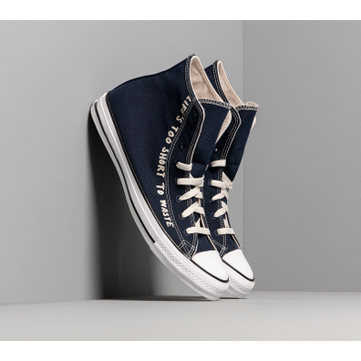 Converse Chuck Taylor All Star Hi Renew Obsidian/ Egret/ White productafbeelding