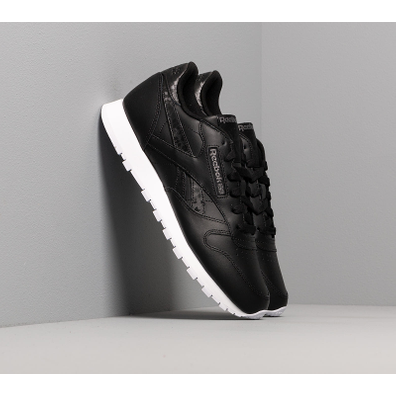 Reebok Classic Leather Black/ Black/ White productafbeelding