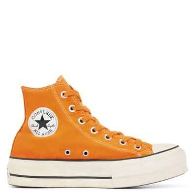 Womens Italian Crafted Dye Chuck Taylor All Star Platform High Top productafbeelding