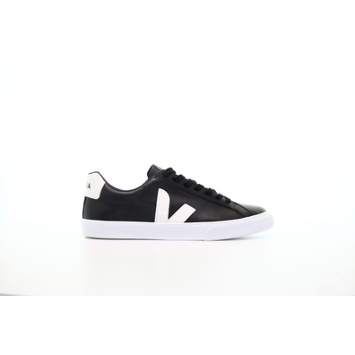"Veja Esplar Logo Leather ""Black"" productafbeelding"