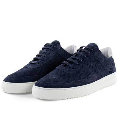 Filling Pieces Mondo Ripple Perforated 'Navy' productafbeelding