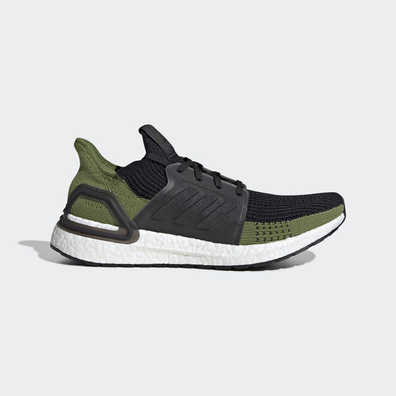 adidas UltraBOOST 19 m Core Black/ Core Black/ Tech Olive productafbeelding