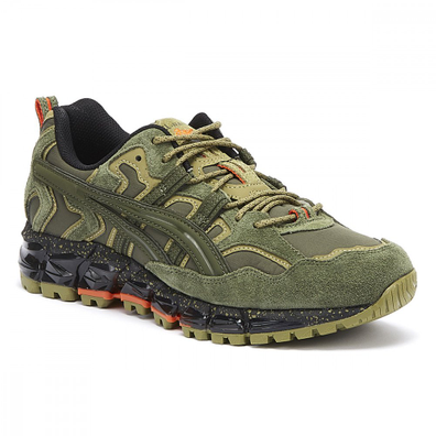 ASICS Gel-Nandi 360 Mens Olive Green Trainers productafbeelding