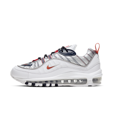 Nike WMNS Air Max 98 Premium 'White/Metallic' productafbeelding
