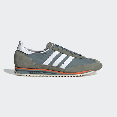 adidas SL 72 Raw Green/ Ftw White/ Orange productafbeelding