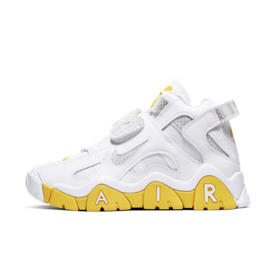 Nike WMNS Air Barrage Mid 'White/Yellow' productafbeelding