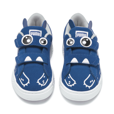 Puma Suede Monster Family Kids Trainers productafbeelding