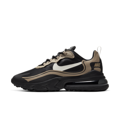 Nike Air Max 270 react 'Black/Gold' productafbeelding