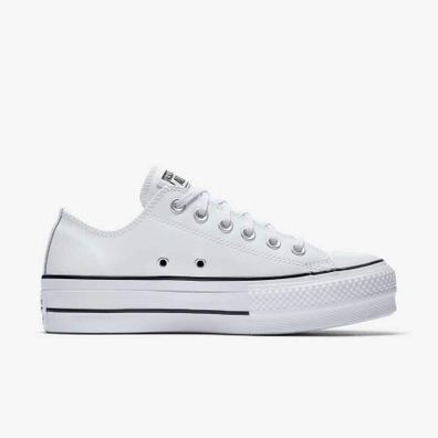 Converse All Stars Lift Clean 561680C Wit  productafbeelding