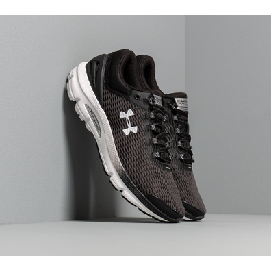 Under Armour Charged Intake 3 Black/ White/ White productafbeelding