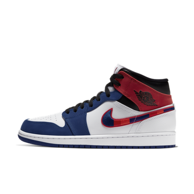 Air Jordan 1 Mid SE 'Blue/Red' productafbeelding
