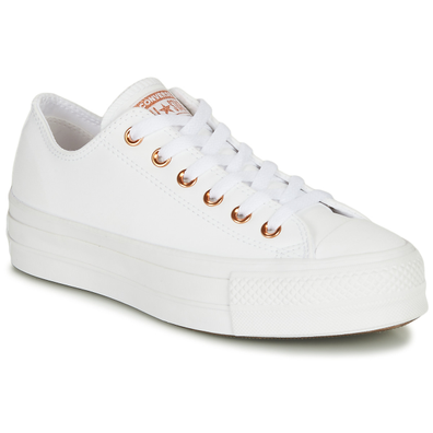 Converse Chuck Taylor Lift Clean Craf Leather productafbeelding