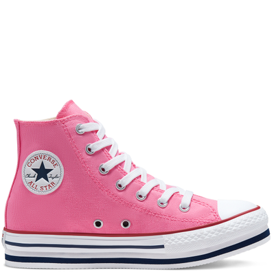 Everyday Platform Chuck Taylor All Star High Top voor kids productafbeelding