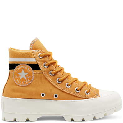 Lugged Varsity Chuck Taylor All Star High Top voor dames productafbeelding