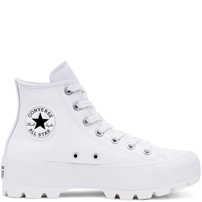 Lugged Leather Chuck Taylor All Star productafbeelding