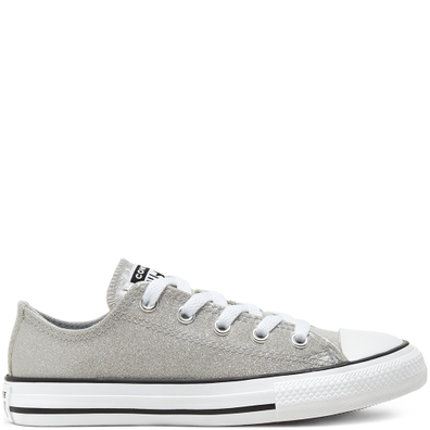 Coated Glitter Chuck Taylor All Star Low Top voor kids productafbeelding