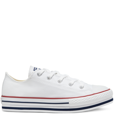 Everyday Platform Chuck Taylor All Star Low Top voor kids productafbeelding