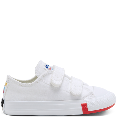CTAS 2V OX WHITE/UNIVERSITY RED productafbeelding