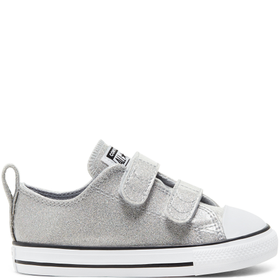 Coated Glitter Easy-On Chuck Taylor All Star Low Top voor peuters productafbeelding