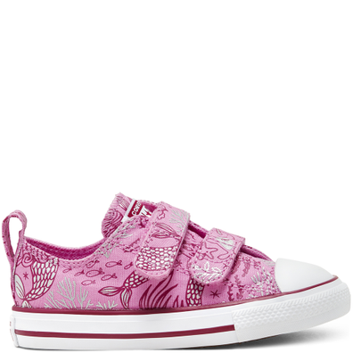 CTAS 2V OX PEONY PINK/ROSE MAROON/WIT productafbeelding