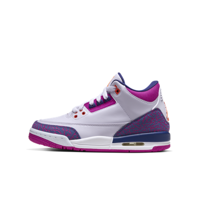 Air Jordan 3 Retro GS 'Barely Grape' productafbeelding