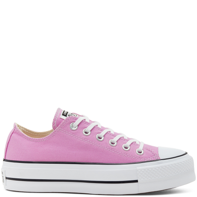 Seasonal Color Platform Chuck Taylor All Star Low Top voor dames productafbeelding