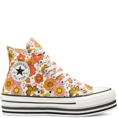 Girls Unite Platform Chuck Taylor All Star High Top voor dames productafbeelding