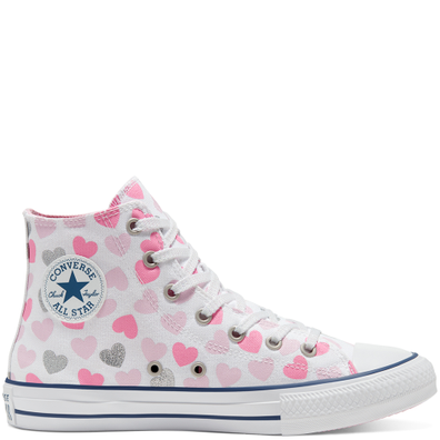 CTAS HI WIT/CHERRY BLOSSOM/ZILVER productafbeelding