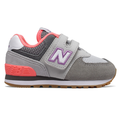 New Balance 574 Grey/Pink TS productafbeelding